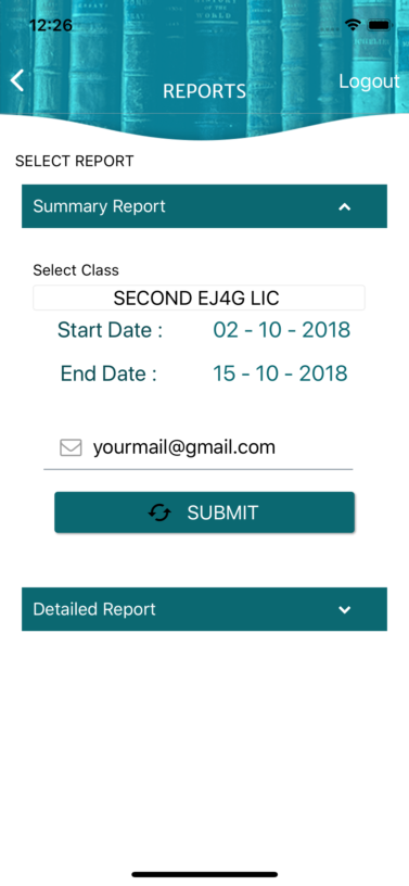Simplified Reports